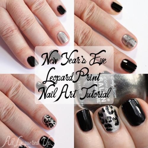 Leopard Print Nail Art Tutorial
