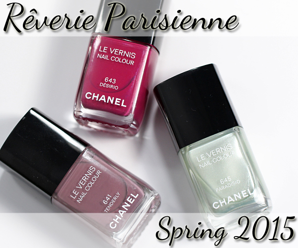 Chanel Long Wear Gel Polish All Colours Spring 2016