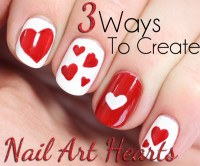 Heart Nail Art Tutorial | www.pixshark.com - Images ...