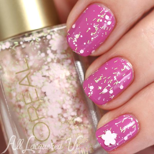 L Oreal Hint Of Lavender Swatch Spring 2016 Haute Fls Via Alllacqueredup