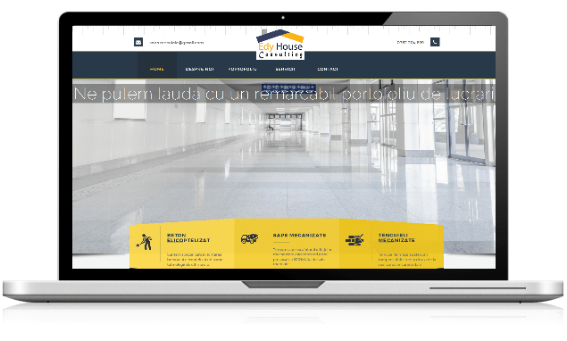 Proiect web design Edy House Consultyng
