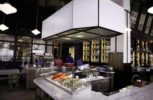 AllMetal Fabricators  Brasserie Beck Restaurant