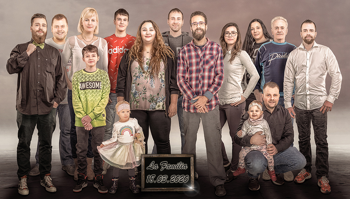 La Familia Familien Composing Allmie Fotograf aus Bernau bei Berlin