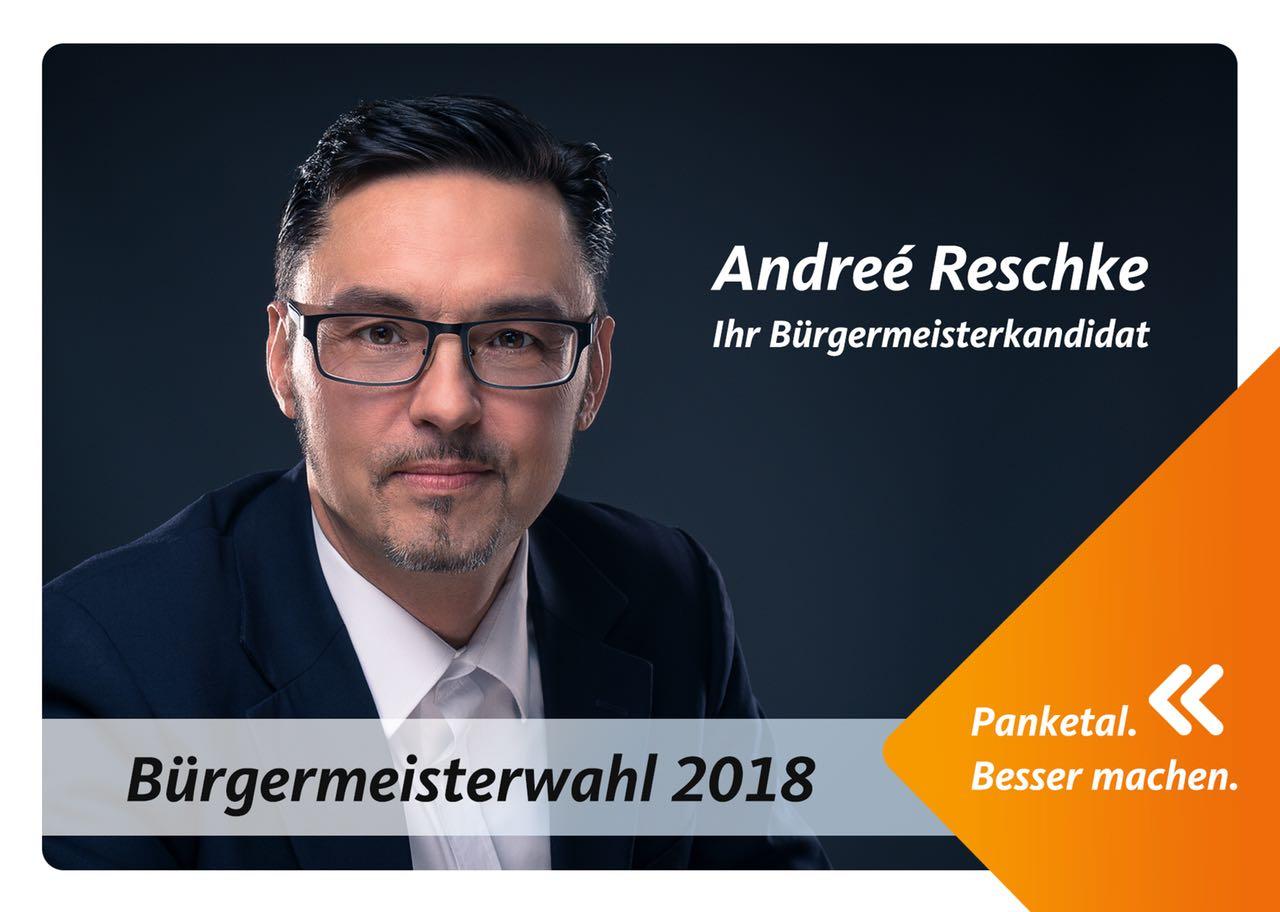 Bürgermeister Wahl Panketal Allmie Fotograf aus Bernau bei Berlin
