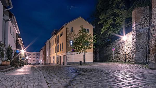 Bernau Nachtaufnahme Hohe Stein Strasse Allmie