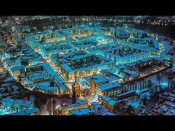 Winterwunderland Bernau bei Berlin Cyan Allmie