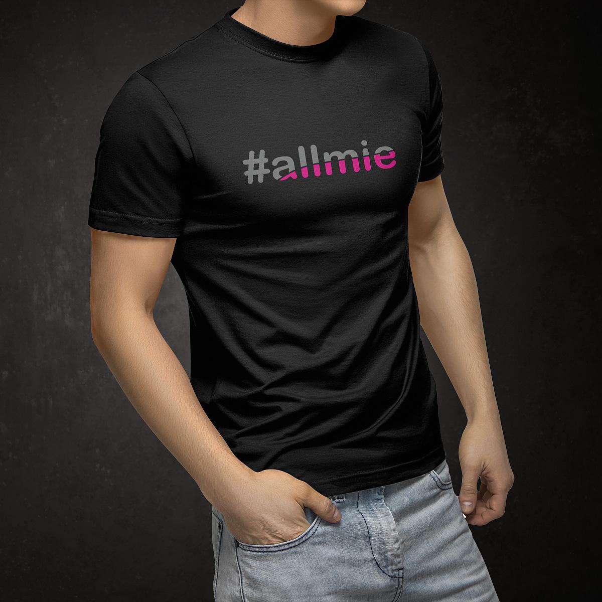 Hashtagshirt Allmie Fotograf aus Bernau Tom Tailer Shirt