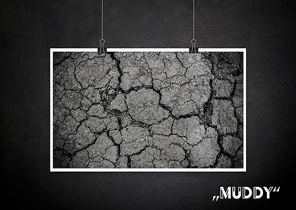 Backdrop Muddy Schlamm Textur für Fotografen Allmie