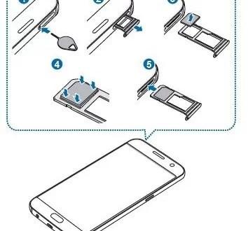 Galaxy S7 come inserire la scheda di memoria nel telefono