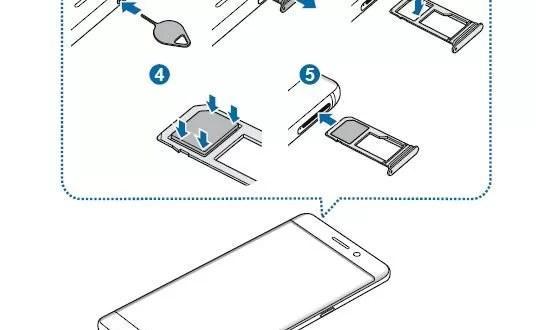 Galaxy Note 7 come Inserire la scheda SIM e Micro SD