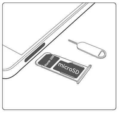 Huawei P8 Lite 2017 Inserire memoria MicroSD