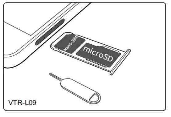 Huawei P10 inserire scheda nano SIM