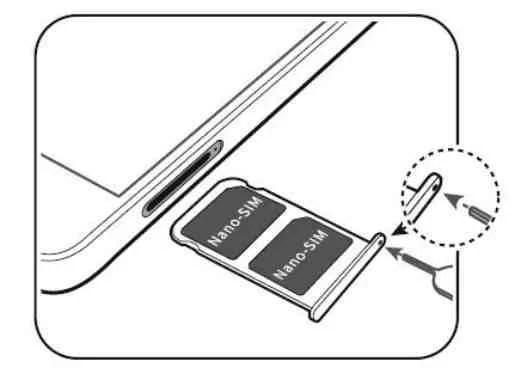 Huawei Mate 10 Come mettere scheda SIM
