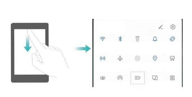 Come registrare lo schermo su Huawei Mate 30 Mate 30 Pro