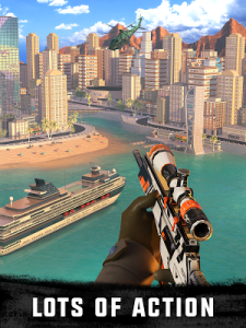 Sniper 3D Assassin Gun Shooter Mod 2.23.3 Apk [Unlimited Gold] 1