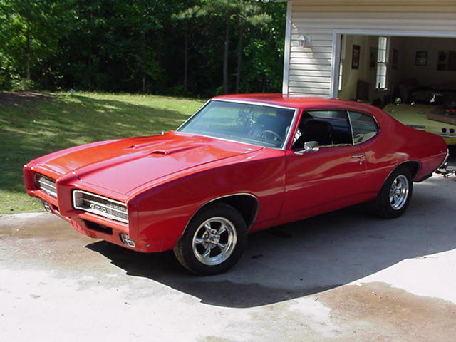 1969 Red GTO
