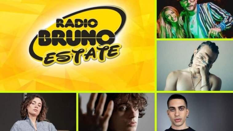 Torna il Radio Bruno Estate con due serate di musica dal vivo con Sangiovanni, Irama, J-Ax e altri 30 artisti