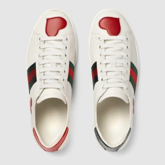 white tennis shoes gucci