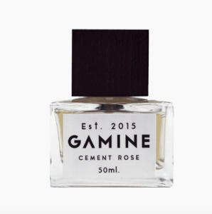 cement rose perfume bottle