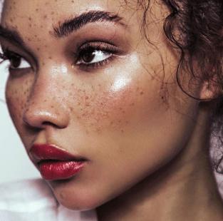 Ashley Moore freckles beauty