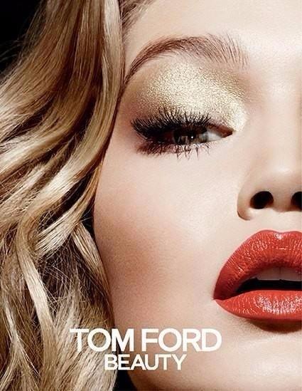 gigi hadid tom ford, tom ford beauty, gigi beauty, gigi weight