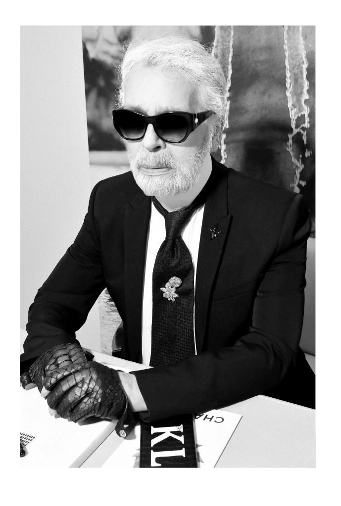 karl lagerfeld numero interview