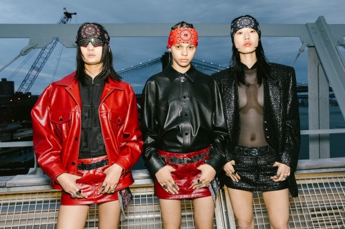 spring vogue backstage models runway fashion