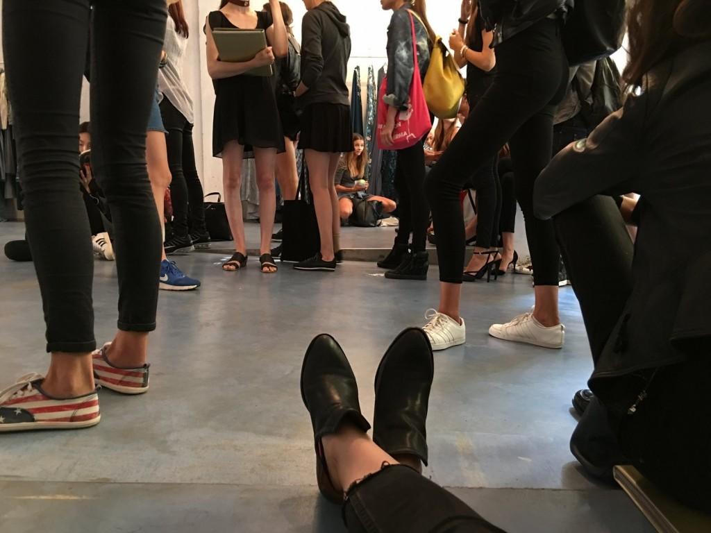 working milan fashion week