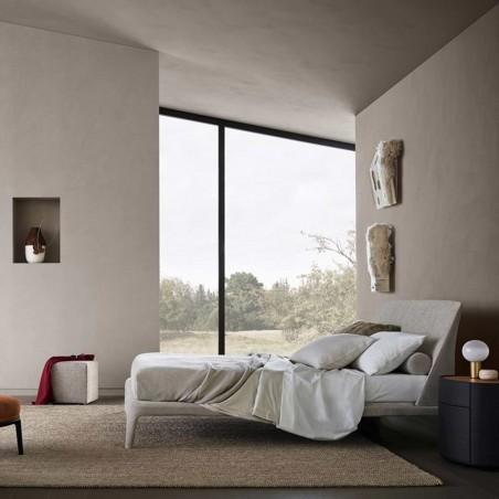 camere da letto complete conforama: Letto Kelly Poliform Allmyhome By Arredamenti Camilletti