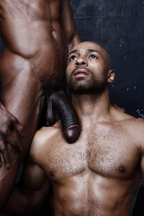 Naked Black Man 57