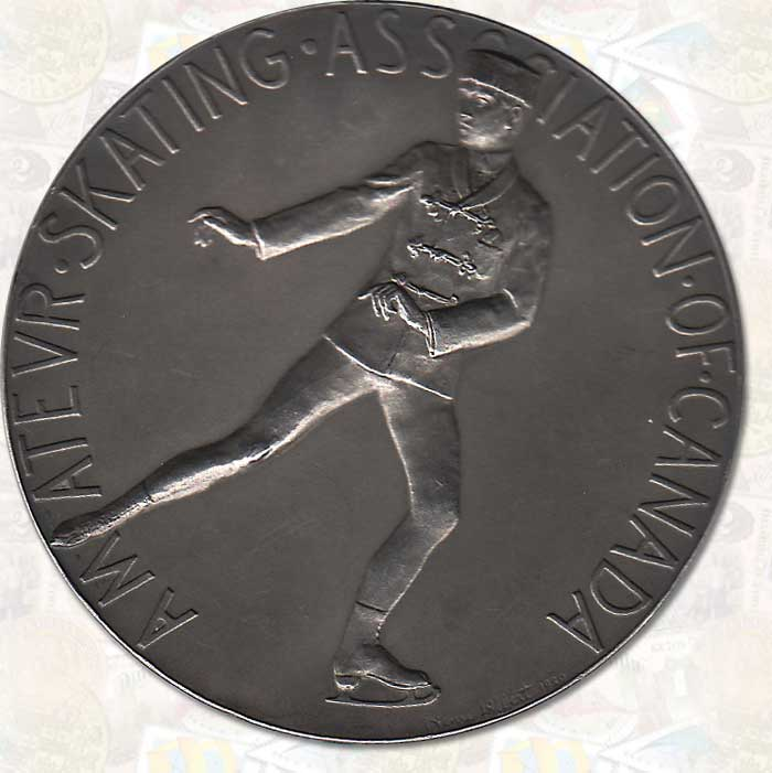 Canadian 1926 Figure Skating Championship Silver Medal