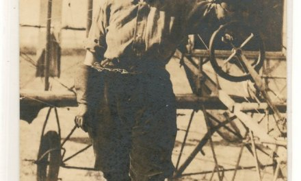 Alys Mckey Bryant, 31 July 1913 Unused Vancouver, B.C. Flight Postcard