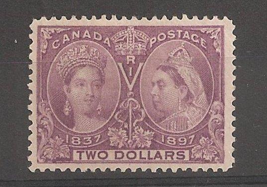 Canada #62 VF Mint HR 1897 $2 Jubilee