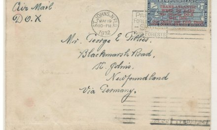 Newfoundland #C12 19 May 1932 $1.50 DO-X First Day/Flight Cover