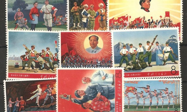 P.R. China #982-990 F/VF Never Hinged 1968 Literature & Art Set cple gum spots
