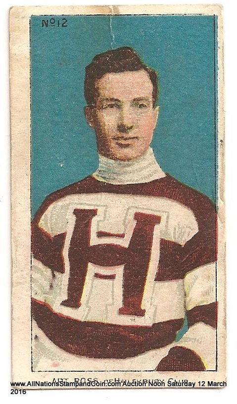 Art Ross 1910/1911 C56 Imperial Tobacco #12 Rookie Hockey Card