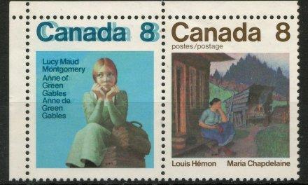 Canada #658ai 1975 8c Double Print in Pair