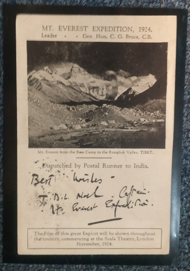 Lot 153 Mount Everest Expedition 1924 Mint Comet Variety & Base Camp Card