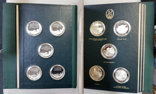 Mountbatten Medallic History of G.B. & the Sea Vol IV 25 Silver Medals Lot 186