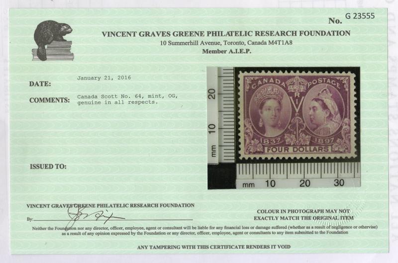 2016 Greene Certificate