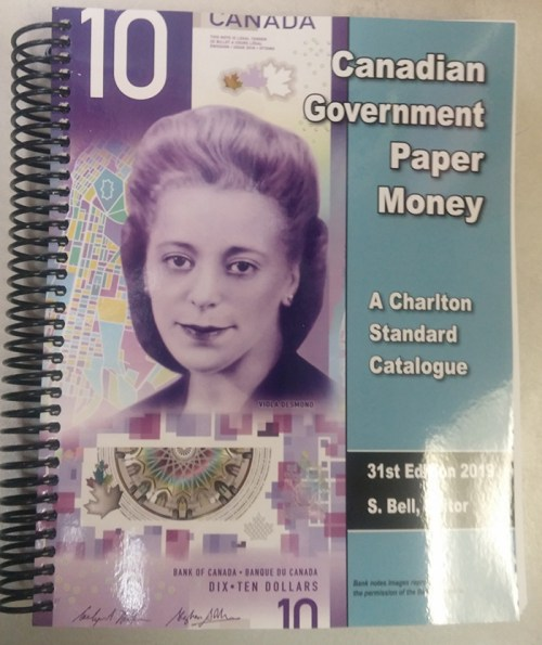 2019 Charlton Canadian Government Paper Money Catalogue