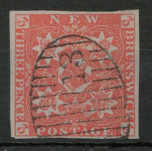 New Brunswick #1 F/VF Used w/ 1983 APS Cert stating Genuine $525