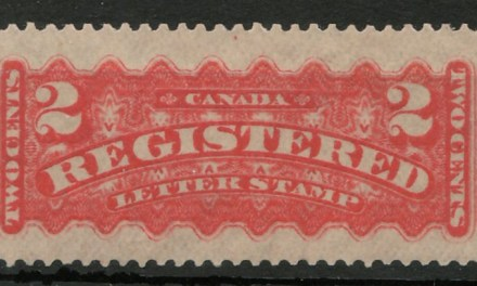 Canada #F1b 1888 2c Registration