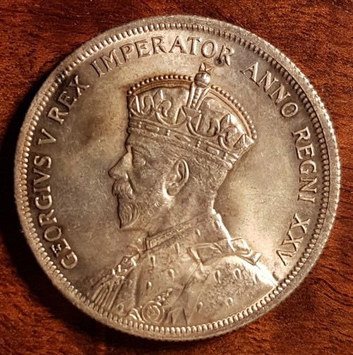 Obverse: King George V by Percy Metcalfe