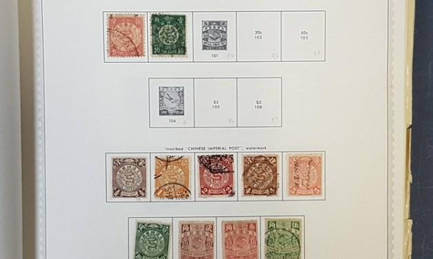 China 1897/1980 lifetime Mint & Used in Minkus album (2000)