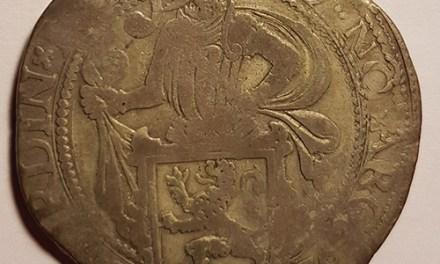 Netherlands 1576 Silver Lion Dollar