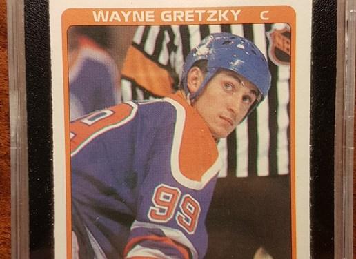 1984/1985 OPC Wayne Gretzky All Star Card