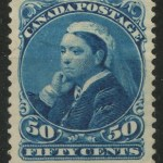 Canada #47 Mint HR 1893 50c Widow Weed