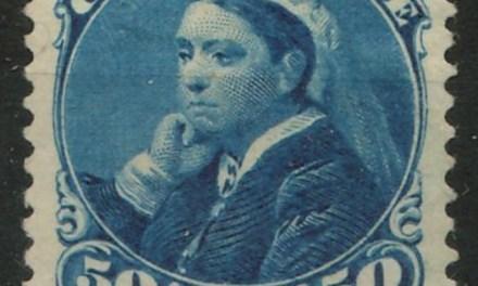 Canada #47 Mint HR 1893 50c Widow Weed