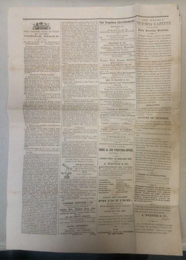 Daily Victoria Gazette page 2